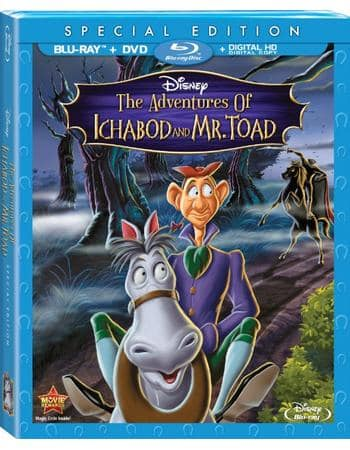 "Disney Movie Rewards: ""The Adventures Of Ichabod an Mr. Toad"" Blu-ray/DVD/Digital HD Combo Pack ~ 900 DMR pts or 720 DMR pts + $3.24 S&P"