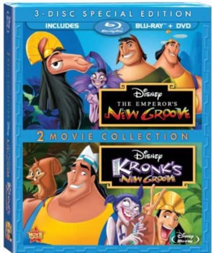 The Emperor's New Groove / Kronk's New Groove (Blu-ray + DVD) ~ $10 @ Walmart.com w/ Free In-Store Pickup