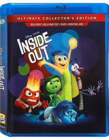 "Disney Movie Rewards: Discounted Blu-ray Combo Packs ~ ""Inside Out"" (3D/BD/DVD/Digital HD), ""Finding Dory"" (BD/DVD/Digital HD), ""Monsters Inc."" (DVD/BD) ~ 1600 DMR points each"