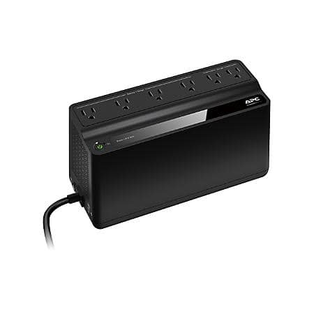 APC Back-UPS BN450M Battery Backup, 6 Outlet, 450VA/255W ~ $35 @ OfficeDepot.com