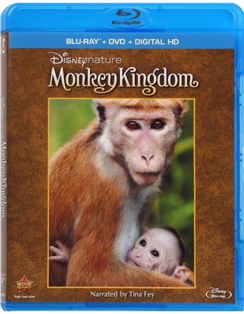 "Disney Movie Rewards: 50% Off Select Disneynature Movie Combo Packs ~ ""Monkey Kingdom"" 662 DMR pts, ""Bears"" 750 DMR pts, & More"