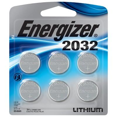 Energizer CR2032 3v Lithium Batteries (6 Count) ~ $4.74 w/ S&S @ Amazon.com