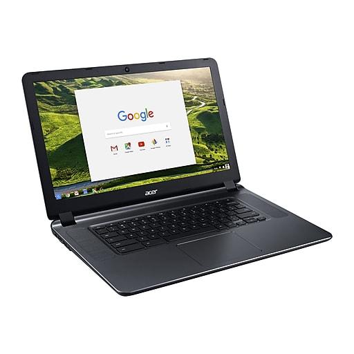 "Refurbished Acer 15 CB3-532-C3F7 Chromebook (Celeron N3060, 2GB RAM, 16GB SSD, 15.6"" 1366 x 768 Display) ~ $70 AC w/ FS @ Staples.com"
