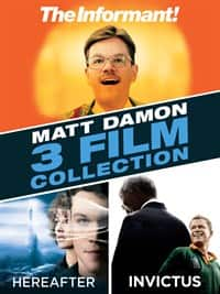 "Matt Damon Digital HD 3-Movie Bundle: ""The Informant!"", ""Hereafter"" & ""Invictus"" ~ $10 @ Microsoft.com"