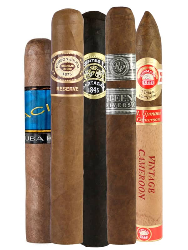 The newest mixed cigar 5 pack from FoxCigar $14.95+FS