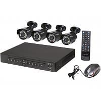 NeweggFlash Deal: NeweggFlash $94.99 for Complete 4 Channel Surveillance System + FS