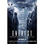 Gofobo Free movie screening Everest - multiple cities
