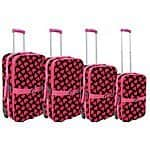 "HiPack 4 piece rolling set 32""-20"" Inch $66.76 shipped w/prime (pink hearts design)"
