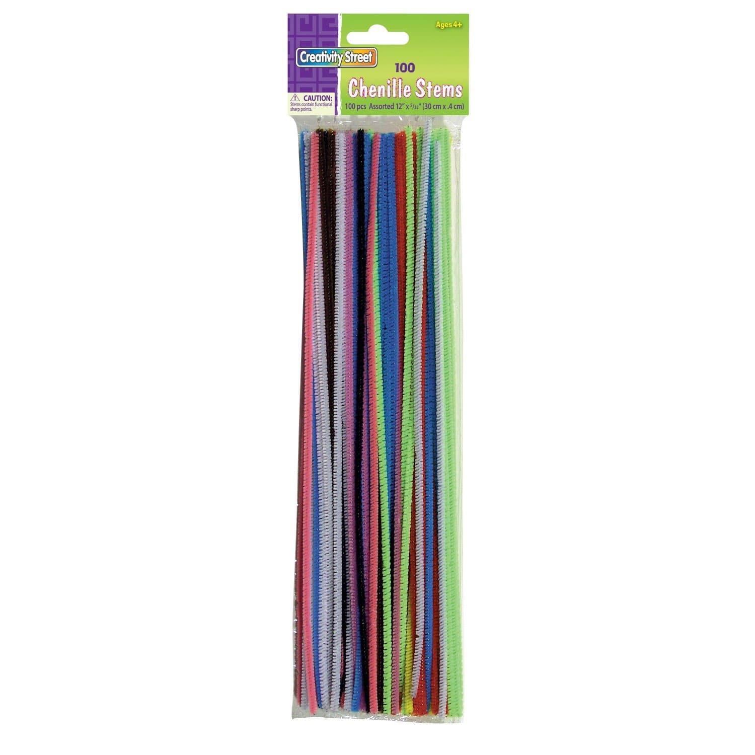 100pk assorted colors Chenille Stems $1 shipped with prime plus $1 digital item reward free