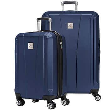 Skyway Oasis 2-piece Hardside Spinner Set for $80 free shipping $79.99