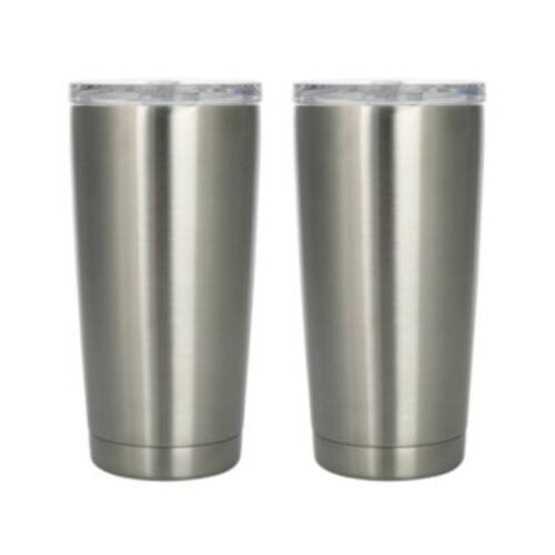 Member's Mark 20 oz. Stainless Steel Vacuum Insulated Tumblers, 2 Pk. for $8 $7.98