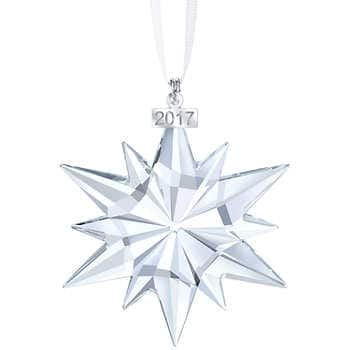 Swarovski Crystal Christmas Ornament, 2017 Annual Edition for $43.99 shipping included