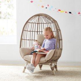 Member's Mark Kids' Egg Chair - Choose Your Color $149.81