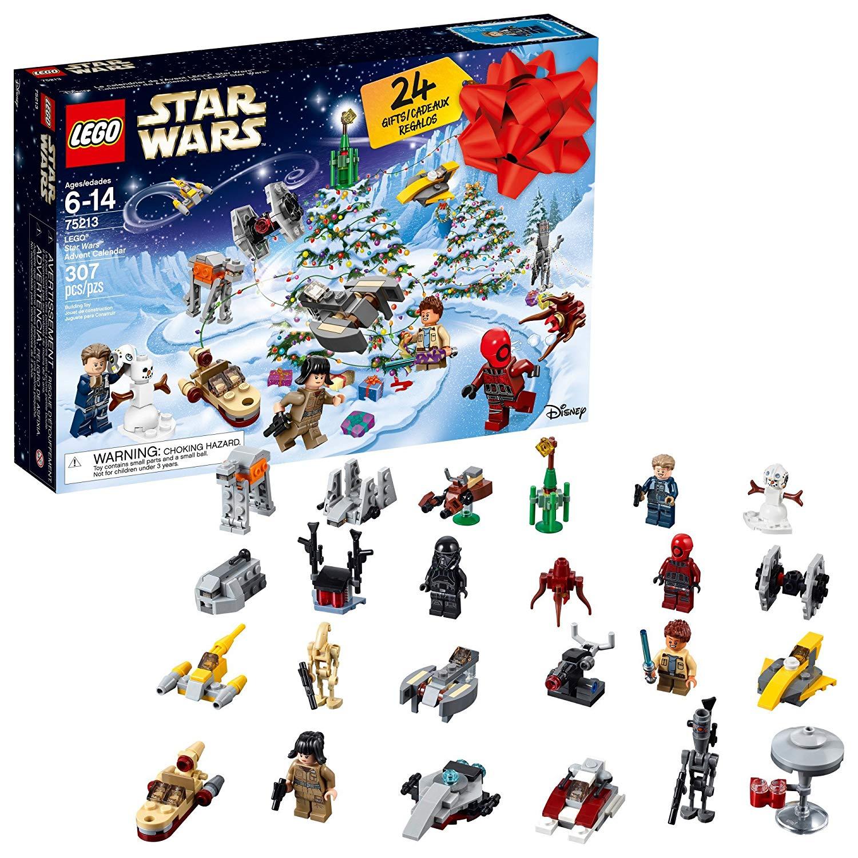 LEGO 6213564 Star Wars TM Advent Calendar, 75213, 2018 Edition ...