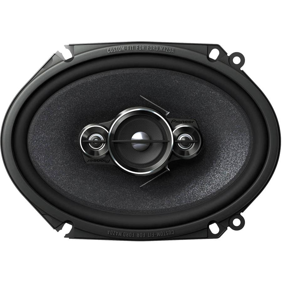 "Pioneer TS-A6886R 6"" x 8""/5"" x 7"" 4-Way Full Range Car Speaker $15 - Only In-Store - YMMV"