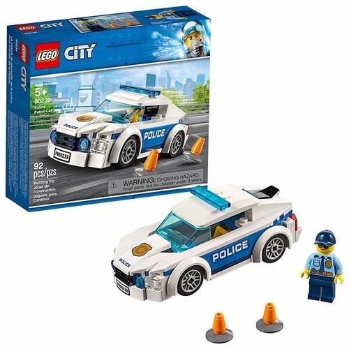 LEGO City Police Patrol Car 60239 Building Kit , New 2019 (92 Piece) $6.99