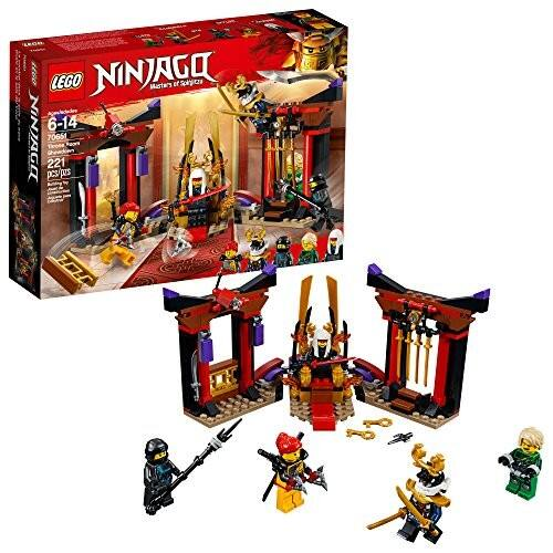 LEGO NINJAGO Masters of Spinjitzu: Throne Room Showdown 70651 Building Kit (221 Piece) $9.33