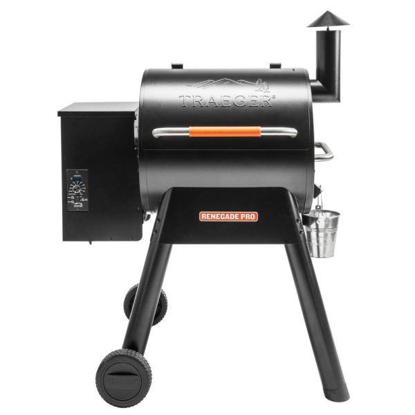 Traeger Renegade Pro Wood Pellet Grill and Smoker in Black (limit 5 per order) $487.5