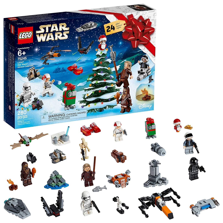 LEGO Star Wars Advent Calendar 75245(280Piece) $32.82, City Advent Calendar 60235, New 2019 (234 Pieces) $24.86 Friends Advent Calendar 41382 New 2019 (330 Pieces) $24.86
