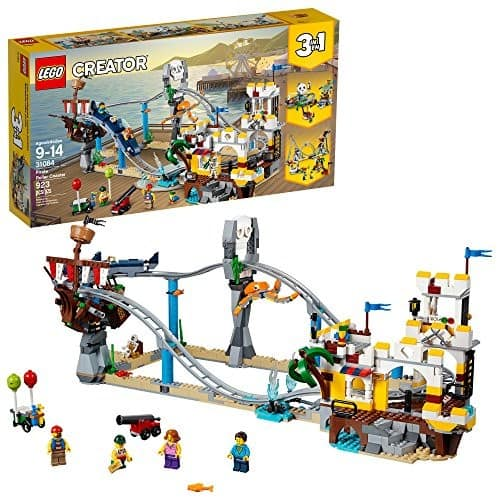 LEGO Creator 3in1 Pirate Roller Coaster 31084 Building Kit (923 Piece) $55.99 + FREE SHIPPING