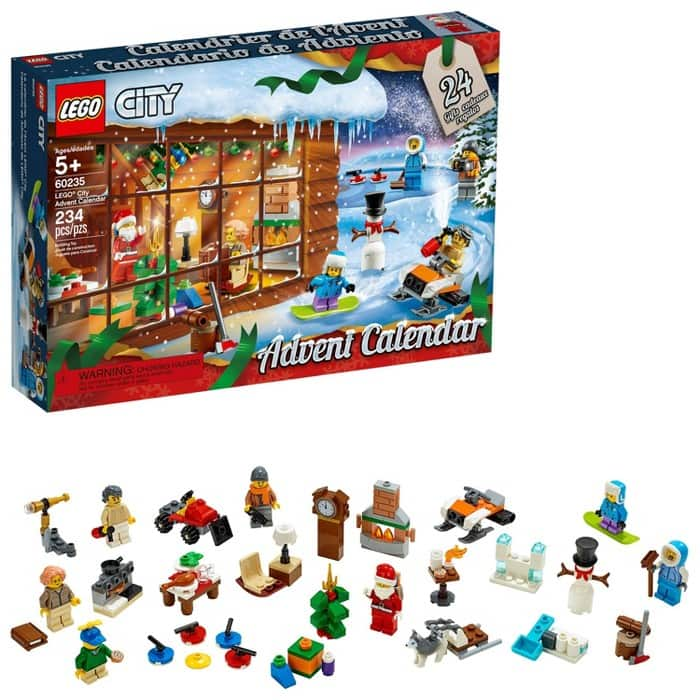 Lego Friends Christmas Sets.Lego City Or Friends Advent Calendar Building Kit