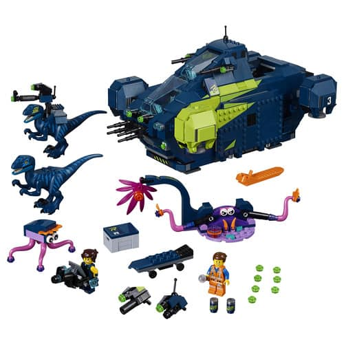 LEGO The Movie 2 Rex's Rexplorer! 70835 Building Kit, Spaceship Toy with Dinosaur Figures, 2019 (1172 Pieces) $69.99 + FREE SHIPPING