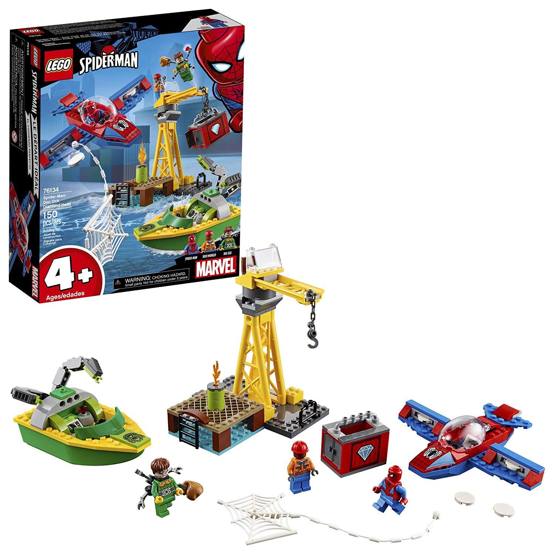 LEGO Marvel Spider-Man: Doc Ock Diamond Heist 76134 Building Kit (150 Piece), $16.99