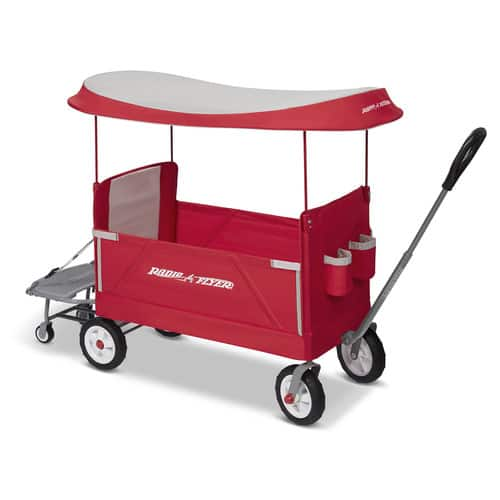 Radio Flyer, 3-in-1 Tailgater Wagon with Canopy, Folding Wagon, Red- $65.51 + Free 2 day shipping