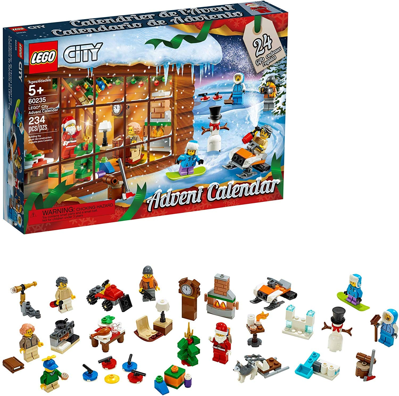LEGO City Advent Calendar 60235 Building Kit, New 2019 (234 Pieces) - $19.97