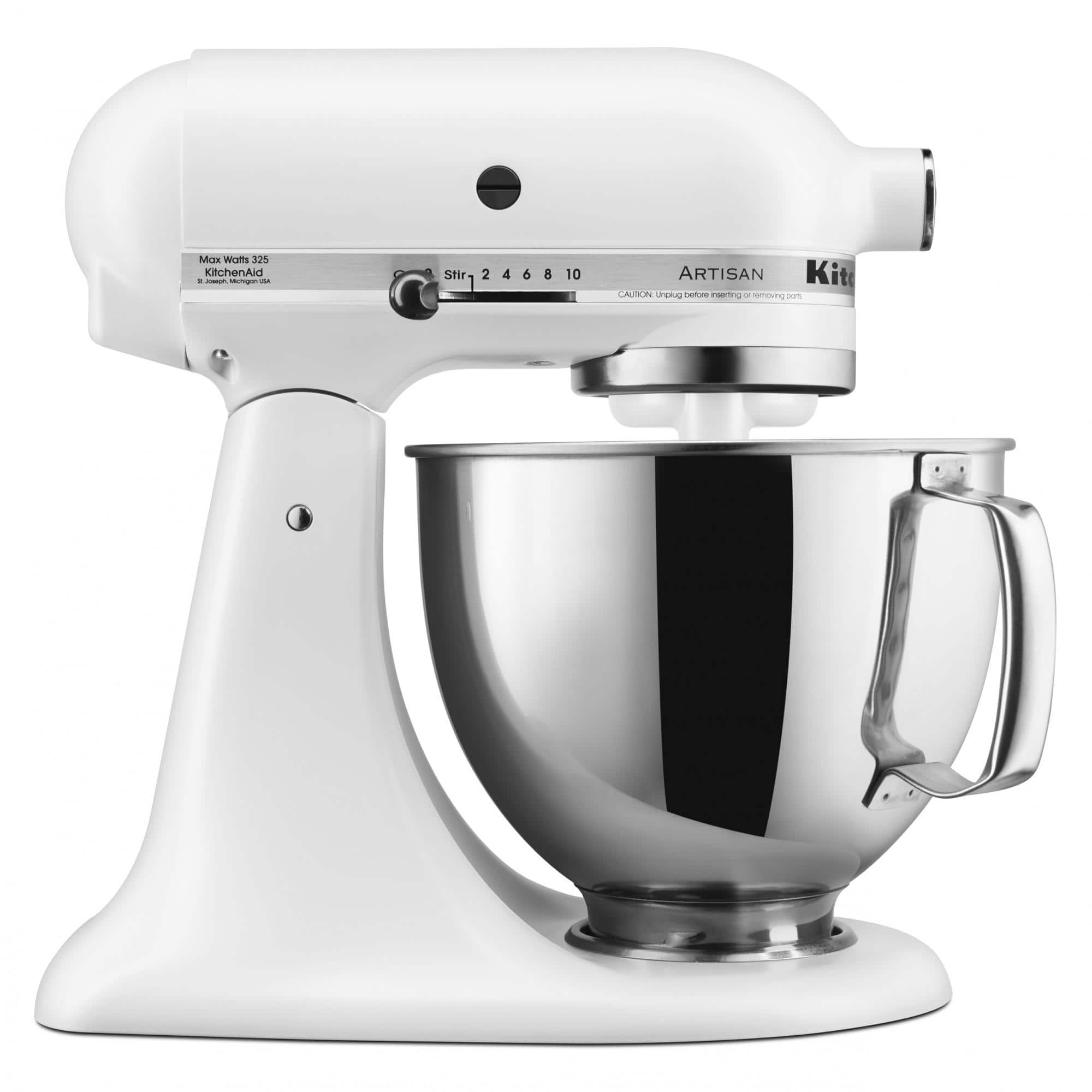 KitchenAid Artisan Series 5 Quart Tilt-Head Stand Mixer, Various Colors - $219.99