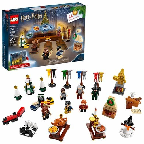 LEGO Harry Potter Advent Calendar 75964 Building Kit, New 2019 (305 Pieces) - $29.99