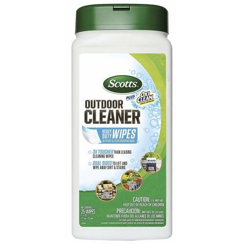 Scotts 51601 Plus Oxi Clean Outdoor Cleaner Wipes [Wipes] - $1.74