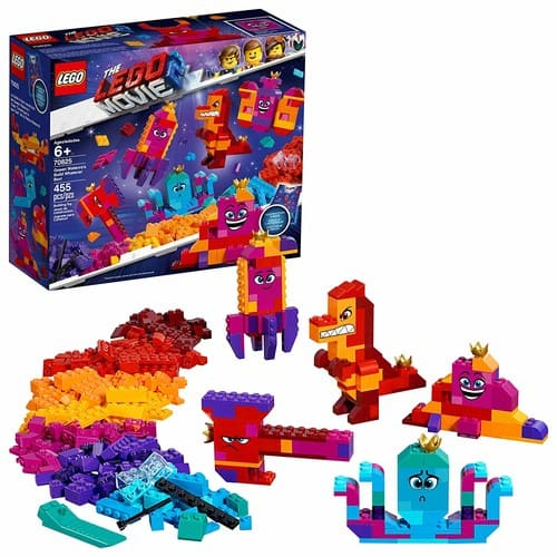 LEGO The LEGO Movie 2 Queen Watevra's Build Whatever Box! 70825 Pretend Play Toy and Creative Building Kit for Girls and Boys , New 2019 (455 Piece) - Amazon/Target - $19.99