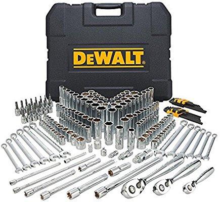 DEWALT Mechanics Tools Kit and Socket Set, 204-Piece (DWMT72165) - $150.58