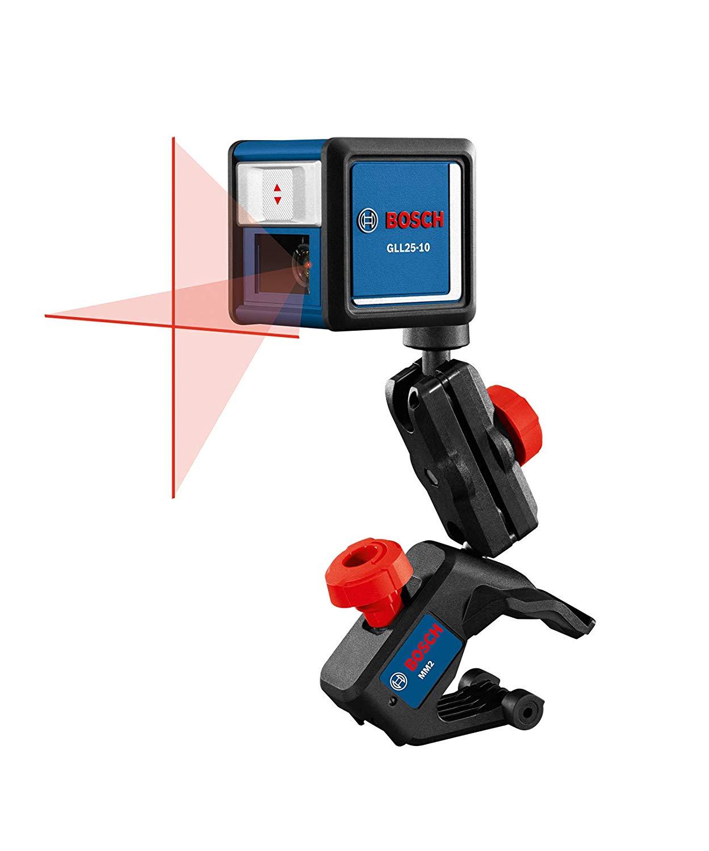 Bosch GLL25-10 30' Beam Self-Leveling Cross-Line Laser Level - Amazon $39.00