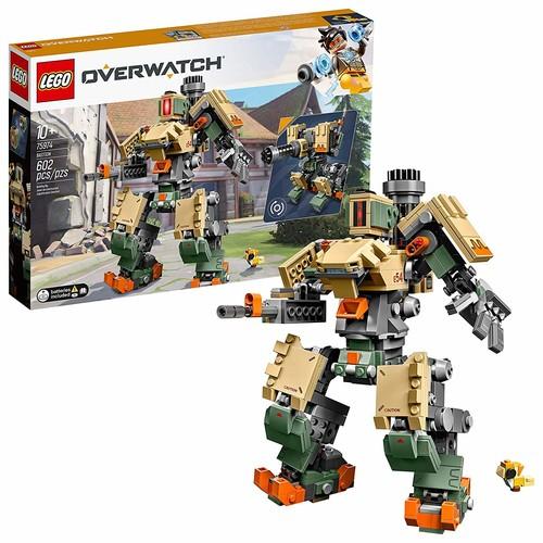 LEGO 6250958 Overwatch 75974 Bastion Building Kit , New 2019 (602 Piece) - Amazon/Walmart - $32.99