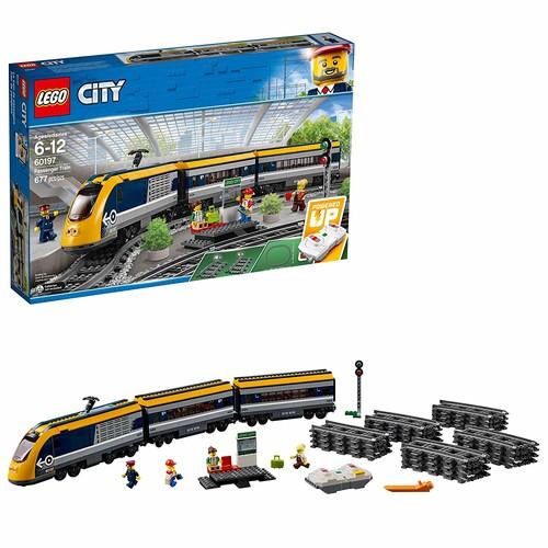 LEGO City Passenger Train 60197 Building Kit (677 Piece) - Amazon/Walmart - $139.70