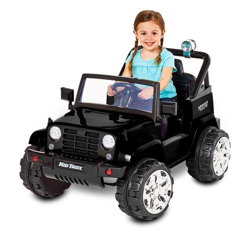 Kid Trax Fun Chaser 6V Battery Powered Ride-On, Black - Walmart $59