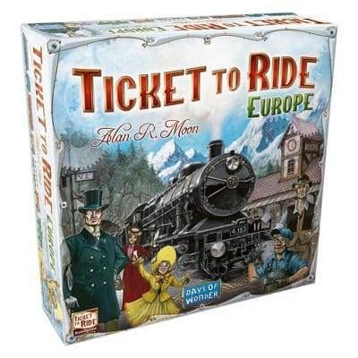 Ticket To Ride Europe Board Game : Target $24.74