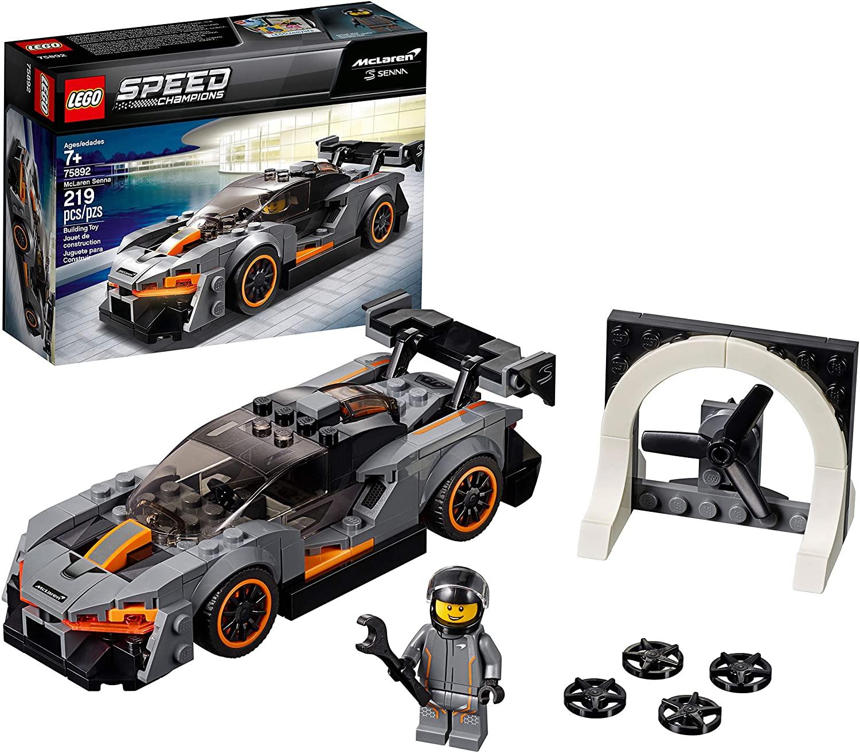 LEGO Speed Champions McLaren Senna 75892 Building Kit (219 Pieces) - Walmart, Amazon - $11.99