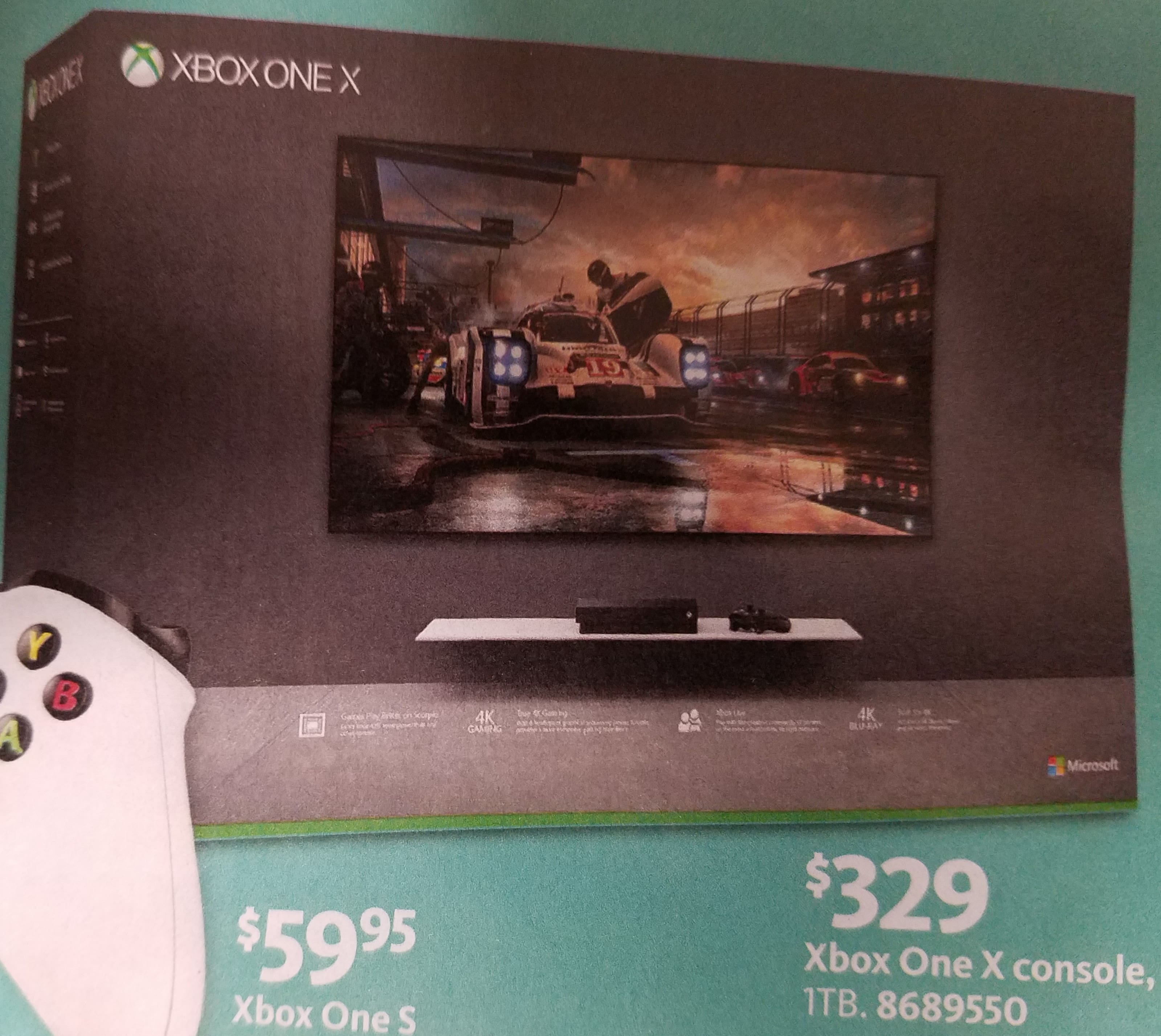 AAFES has updated Ad-No Deal(Jan 26- 1 Feb)AAFES Xbox One X 1TB Console