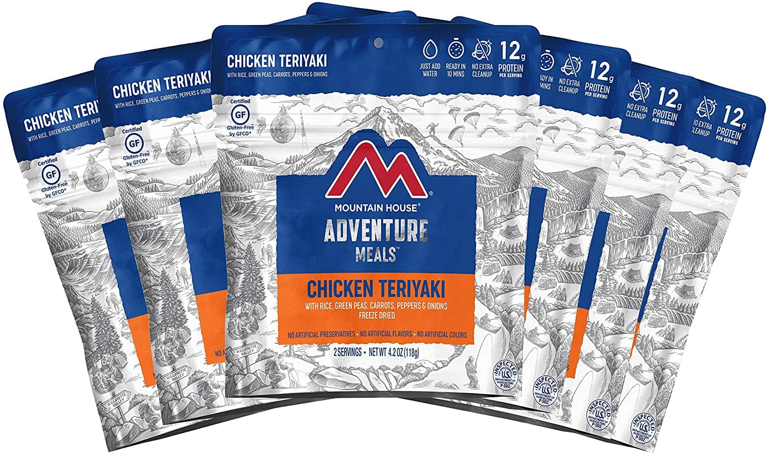 Freeze Dried Mountain House Chicken Teriyaki with Rice 6 pack for $45 @ Amazon