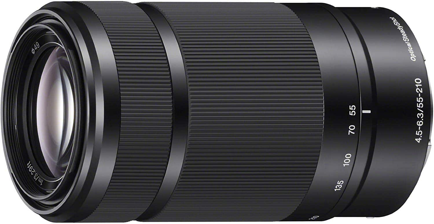 Sony E 55-210mm F4.5-6.3 Lens for Sony E-Mount Cameras $148 Free Shipping @ Amazon (lowest ever!)
