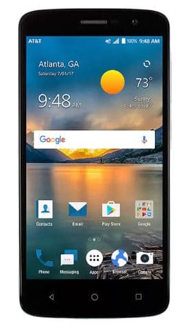 AT&T Prepaid ZTE Blade Spark CERTIFIED REFURBISHED free after purchase of prepaid card on ATT.com