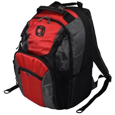 SwissGear Sherpa 16 inch Laptop Backpack - Red/Black $29.95