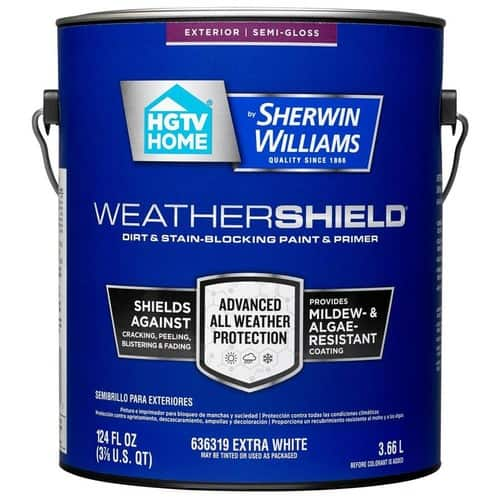 Sherwin-Williams Weathershield Semi-Gloss with Lowe's $10 to $40 Rebate - $31.78