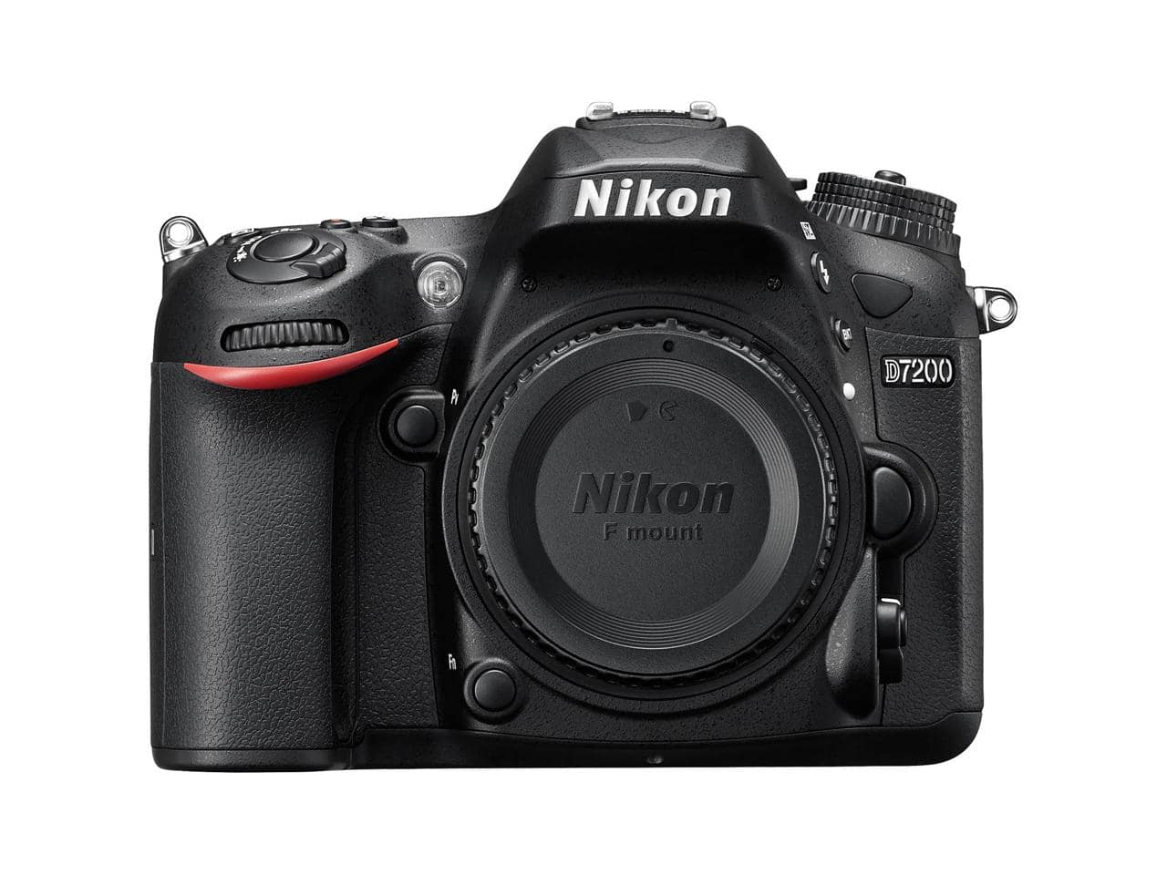 Nikon D7200 DX-format Digital SLR Camera Body, 24.2 MP,  Black - Refurbished $709.95.