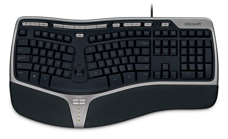 Microsoft - Natural Ergonomic Keyboard 4000 - Black $19.99
