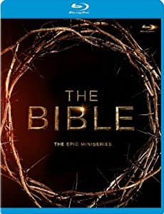 The Bible: The Epic Miniseries Blu-ray  $14.99