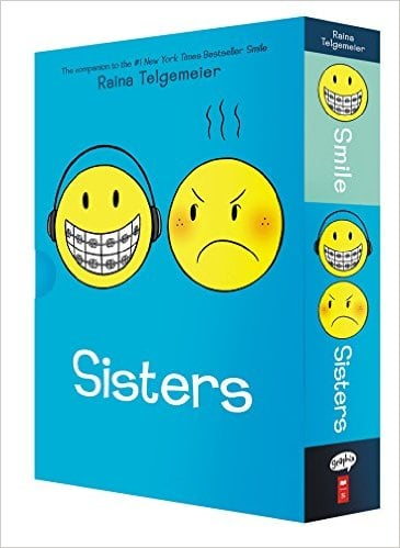 Smile and Sisters: The Box Set (by Raina Telgemeier)  $11.41